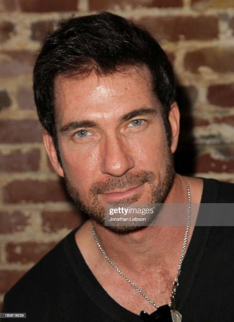 Actor <a gi-track='captionPersonalityLinkClicked' href=/galleries/search?phrase=Dylan+McDermott&family=editorial&specificpeople=211496 ng-click='$event.stopPropagation()'>Dylan McDermott</a> attends Super Bowl Sunday at The Microsoft Experience on February 3, 2013 in Venice, California.