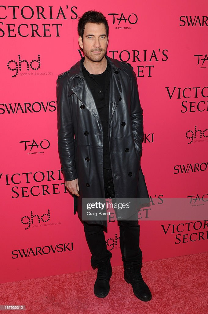Actor <a gi-track='captionPersonalityLinkClicked' href=/galleries/search?phrase=Dylan+McDermott&family=editorial&specificpeople=211496 ng-click='$event.stopPropagation()'>Dylan McDermott</a> attends the 2013 Victoria's Secret Fashion after party at TAO Downtown on November 13, 2013 in New York City.