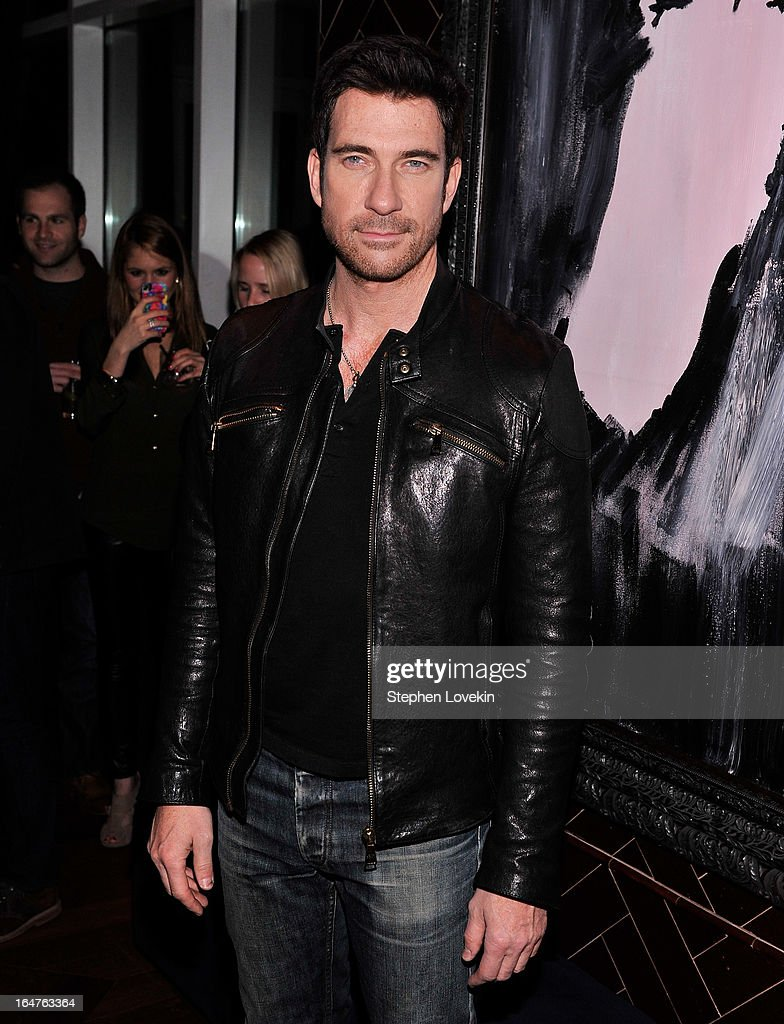 Actor Dylan McDermott attends the after party for a screening of 'The Host' hosted by The Cinema Society & Jaeger-LeCoultre at Jimmy At The James Hotel on March 27, 2013 in New York City.