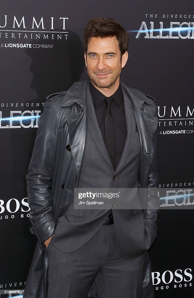 Actor <a gi-track='captionPersonalityLinkClicked' href=/galleries/search?phrase=Dylan+McDermott&family=editorial&specificpeople=211496 ng-click='$event.stopPropagation()'>Dylan McDermott</a> attends the 'Allegiant' New York premiere at AMC Loews Lincoln Square 13 theater on March 14, 2016 in New York City.