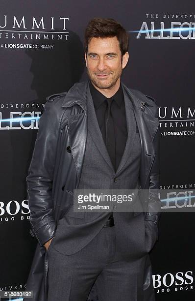 Actor Dylan McDermott attends the 'Allegiant' New York premiere at AMC Loews Lincoln Square 13 theater on March 14 2016 in New York City
