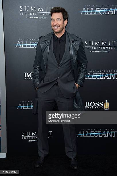 Actor Dylan McDermott attends the 'Allegiant' New York premiere at AMC Lincoln Square Theater on March 14 2016 in New York City
