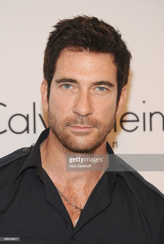 Actor <a gi-track='captionPersonalityLinkClicked' href=/galleries/search?phrase=Dylan+McDermott&family=editorial&specificpeople=211496 ng-click='$event.stopPropagation()'>Dylan McDermott</a> attends the Calvin Klein Collection post show event at Spring Studios on September 12, 2013 in New York City.