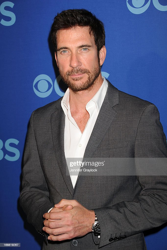 Actor <a gi-track='captionPersonalityLinkClicked' href=/galleries/search?phrase=Dylan+McDermott&family=editorial&specificpeople=211496 ng-click='$event.stopPropagation()'>Dylan McDermott</a> attends the CBS 2013 Upfront Presentation at The Tent at Lincoln Center on May 15, 2013 in New York City.