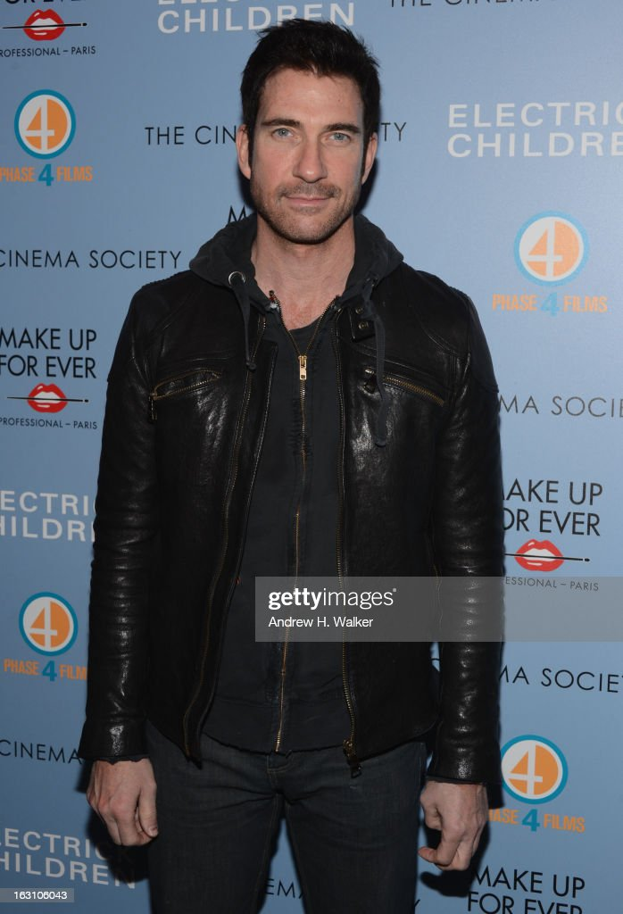 Actor <a gi-track='captionPersonalityLinkClicked' href=/galleries/search?phrase=Dylan+McDermott&family=editorial&specificpeople=211496 ng-click='$event.stopPropagation()'>Dylan McDermott</a> attends The Cinema Society & Make Up For Ever screening of 'Electrick Children' at IFC Center on March 4, 2013 in New York City.