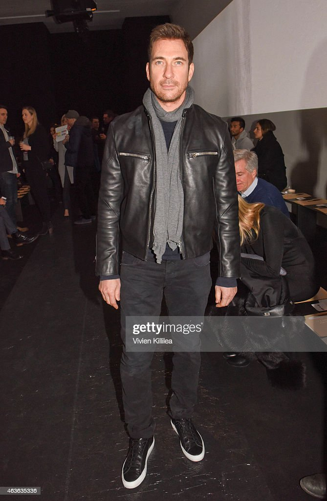Actor Dylan McDermott attends the rag bone show during MercedesBenz Fashion Week Fall 2015 at Spring Studios on February 16 2015 in New York City