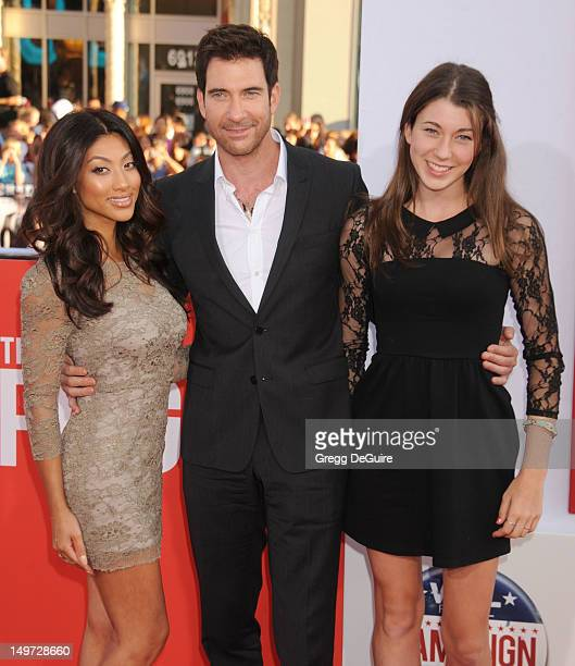 Actor Dylan McDermott Shasi Wells and daughter Coco arrive at the Los Angeles premiere of 'The Campaign' at Grauman's Chinese Theatre on August 2...