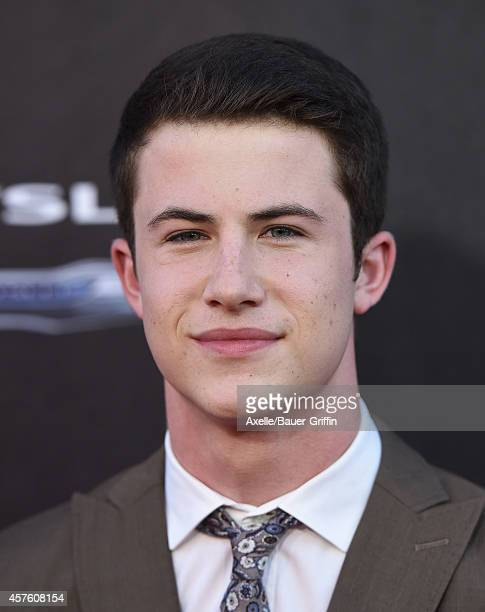 Actor Dylan Minnette arrives at the Los Angeles Premiere of 'Alexander And The Terrible Horrible No Good Very Bad Day' at the El Capitan Theatre on...