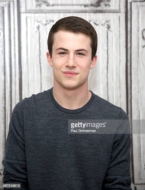Actor Dylan Minnette attends AOL Build Series Presents 'Goosebumps' at AOL Studios In New York on October 12 2015 in New York City