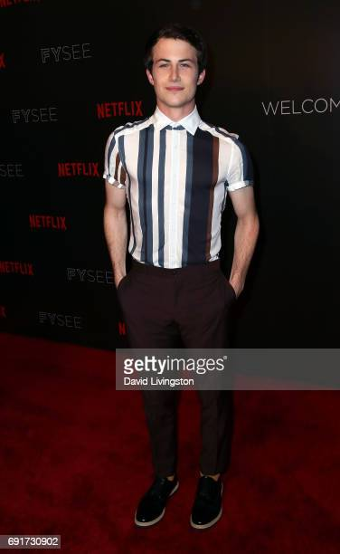 Actor Dylan Minnette attends Netflix's '13 Reasons Why' FYC event at Netflix FYSee Space on June 2 2017 in Beverly Hills California