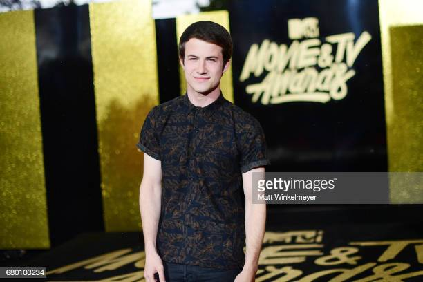 Actor Dylan Minnette attends the 2017 MTV Movie And TV Awards at The Shrine Auditorium on May 7 2017 in Los Angeles California