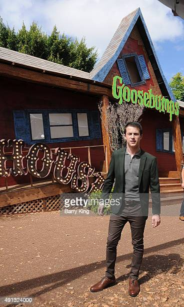 Actor Dylan Minnette attends the Premiere Of Sony Entertainment's 'Goosebumps' at the Regency Village Theater on October 4 2015 in Westwood California