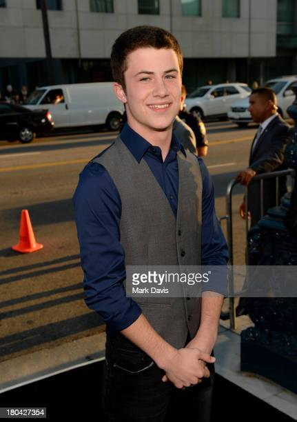 Actor Dylan Minnette attends the Warner Bros Pictures' premiere of 'Prisoners' at the Academy of Motion Picture Arts and Sciences on September 12...