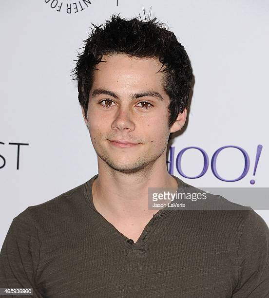 Actor Dylan O'Brien attends the 'Teen Wolf' event at the 32nd annual PaleyFest at Dolby Theatre on March 11 2015 in Hollywood California