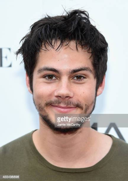 Actor Dylan O'Brien attends the Twentieth Century Fox and Teen Vogue screening of 'The Maze Runner' at SVA Theater on September 15 2014 in New York...