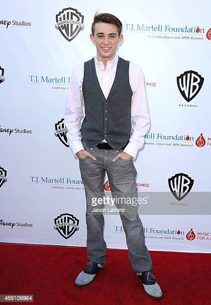 Actor Dylan Riley Snyder attends the TJ Martell Foundation family day at CBS Studios on November 16 2014 in Studio City California