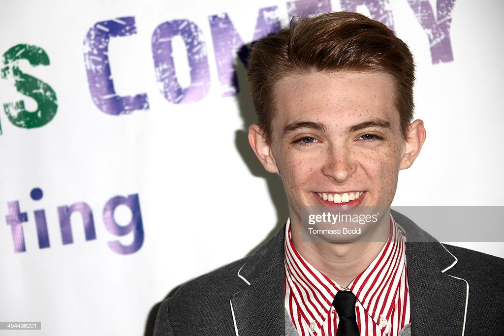 Actor Dylan Riley Snyder attends the 'Up In Arms' comedy fundraiser benefiting Children's Hospital Los Angeles held at Park La Brea Theater on December 8, 2013 in Los Angeles, California.