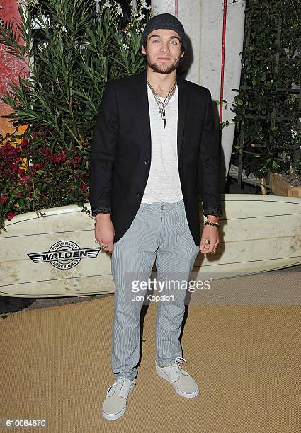 Actor Dylan Sprayberry arrives at Teen Vogue Celebrates 14th Annual Young Hollywood Issue at Reel Inn on September 23 2016 in Malibu California