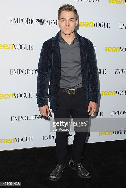 Actor Dylan Sprayberry arrives at Teen Vogue's 13th Annual Young Hollywood Issue Launch Party on October 2 2015 in Los Angeles California