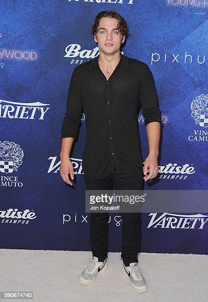 Actor Dylan Sprayberry arrives at Variety's Power Of Young Hollywood at NeueHouse Hollywood on August 16 2016 in Los Angeles California