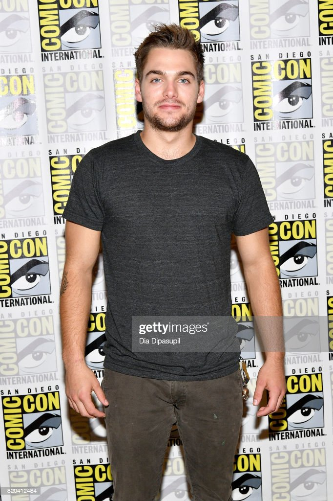 Actor Dylan Sprayberry at the 'Teen Wolf' Press Line during Comic-Con International 2017 at Hilton Bayfront on July 21, 2017 in San Diego, California.