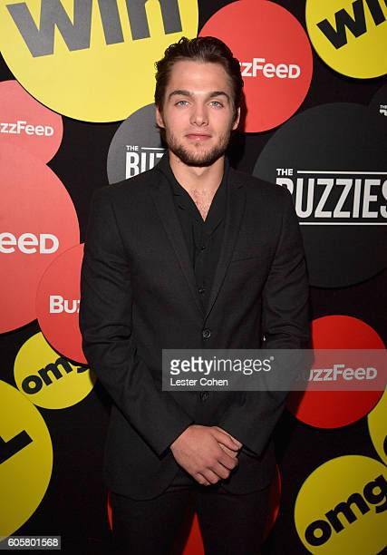 Actor Dylan Sprayberry attends The Buzzies BuzzFeed's PreEmmy party produced by PenPublic at HYDE Sunset Kitchen Cocktails on September 14 2016 in...