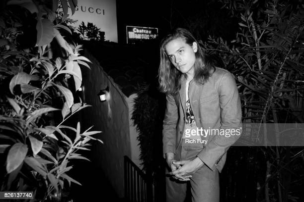Actor Dylan Sprouse attends the 'Carte Blanche' cast dinner and reception at the Chateau Marmont on August 2 2017 in West Hollywood California