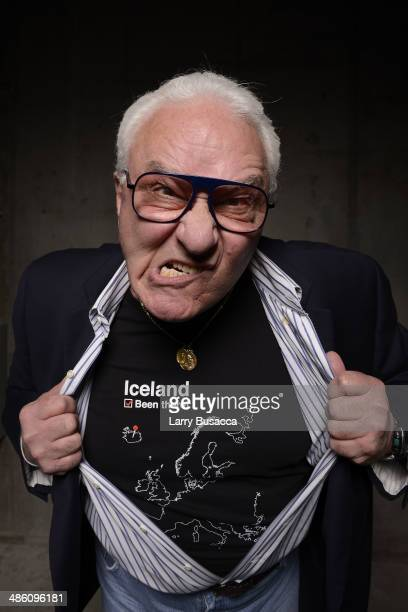 Actor Earl Lynn Nelson from 'Land Ho' poses for the Tribeca Film Festival Getty Images Studio on April 22 2014 in New York City
