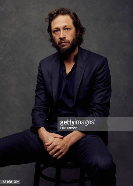 Actor Ebon MossBacharach from 'Tokyo Project' poses at the 2017 Tribeca Film Festival portrait studio on on April 22 2017 in New York City