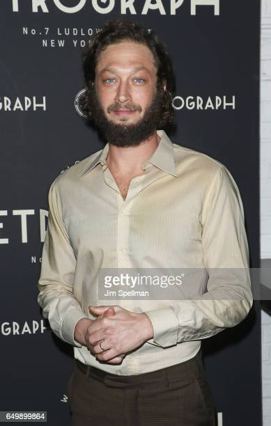 Actor Ebon MossBachrach attends the Metrograph 1st year anniversary party at Metrograph on March 8 2017 in New York City