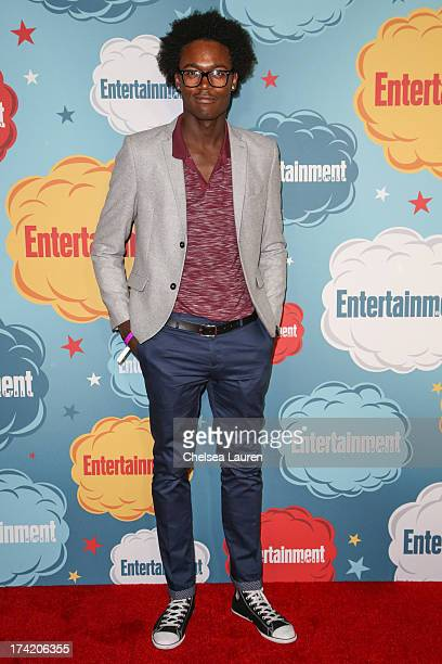 Actor Echo Kellum arrives at Entertainment Weekly's annual ComicCon celebration at Float at Hard Rock Hotel San Diego on July 20 2013 in San Diego...