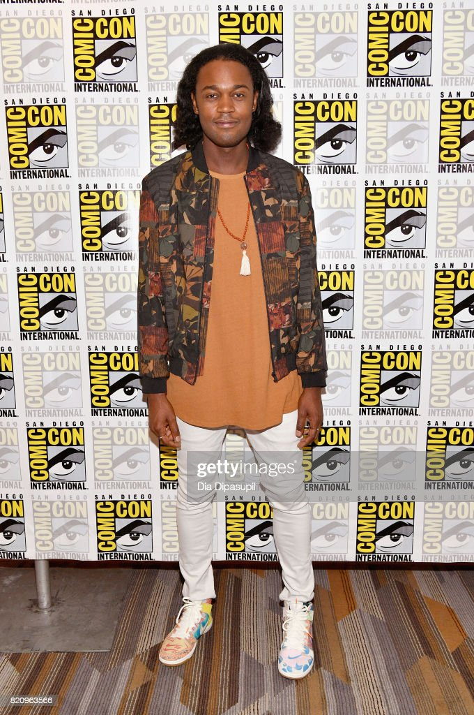 Actor Echo Kellum at the 'Arrow' Press Line during Comic-Con International 2017 at Hilton Bayfront on July 22, 2017 in San Diego, California.