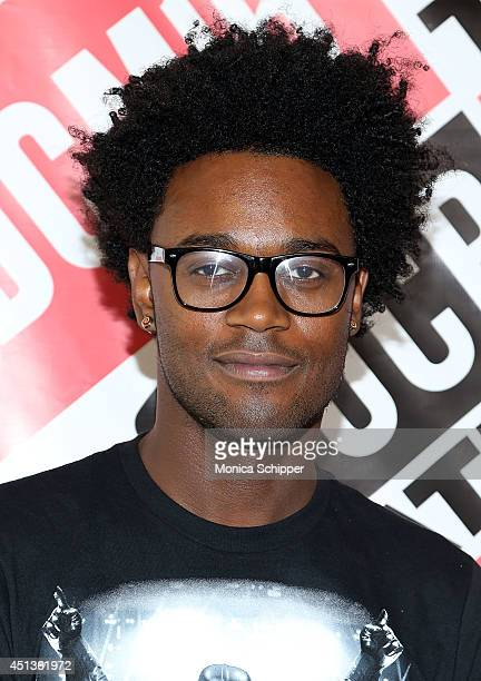 Actor Echo Kellum attends the The 16th Annual Del Close Improv Comedy Marathon at Sun West Studios on June 27 2014 in New York City