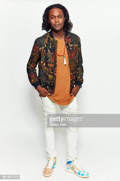 Actor Echo Kellum from CW's 'Arrow' poses for a portrait during ComicCon 2017 at Hard Rock Hotel San Diego on July 22 2017 in San Diego California