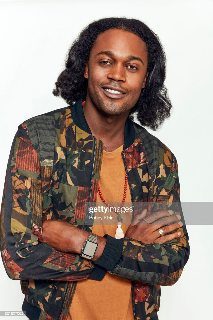 Actor Echo Kellum from CW's 'Arrow' poses for a portrait during Comic-Con 2017 at Hard Rock Hotel San Diego on July 22, 2017 in San Diego, California