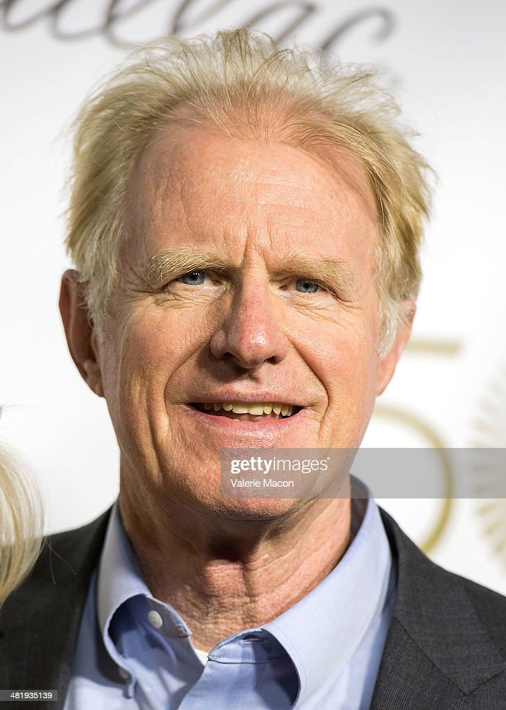 Actor Ed Begley arrives at The Music Center's 50th Anniversary Launch Party at Dorothy Chandler Pavilion on April 1, 2014 in Los Angeles, California.