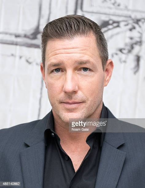 Actor Ed Burns attends the AOL Build Speaker Series 'Public Morals' at AOL Studios In New York on August 24 2015 in New York City