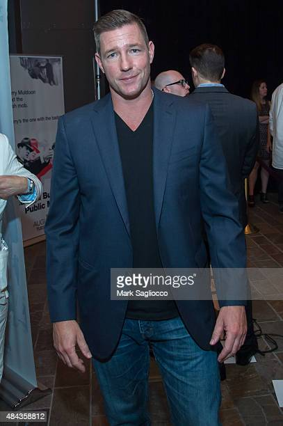 Actor Ed Burns attends the 'Public Morals' New York Screening at the Tribeca Grand Screening Room on August 12 2015 in New York City