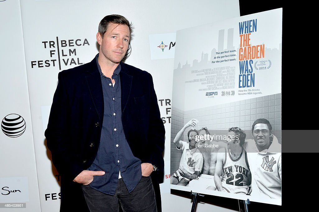 Actor Ed Burns attends the Tribeca/ESPN Sports Film Festival Gala: 'When The Garden Was Eden' during the 2014 Tribeca Film Festival at BMCC Tribeca PAC on April 17, 2014 in New York City.