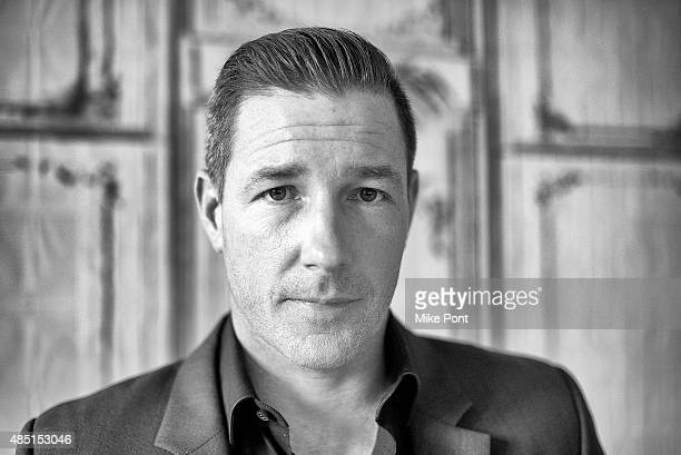Actor Ed Burns discusses his new TV series 'Public Morals' at AOL Studios in New York on August 24 2015 in New York City