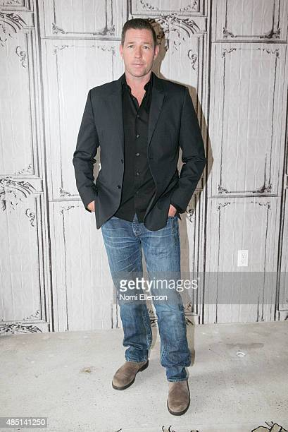 Actor Ed Burns discusses his new TV show 'Public Morals' at AOL Studios In New York on August 24 2015 in New York City