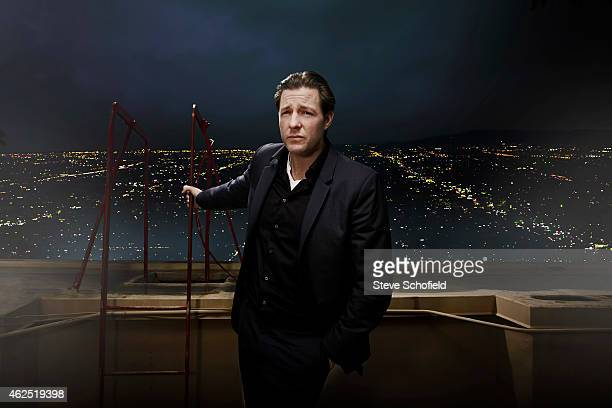 Actor Ed Burns is photographed for Emmy magazine on November 21 2013 in Los Angeles United States