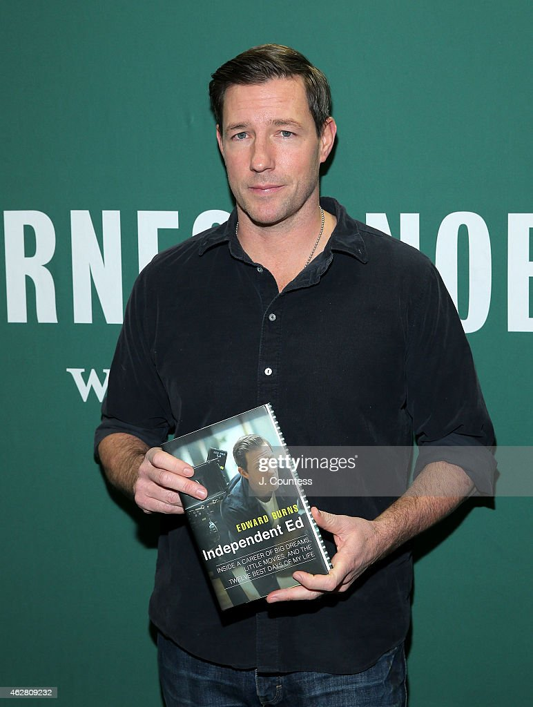 "Ed Burns Signs Copies Of His Book ""Independent Ed: Inside A Career Of Big Dreams, Little Movies, And The Twelve Best Days Of My Life"""