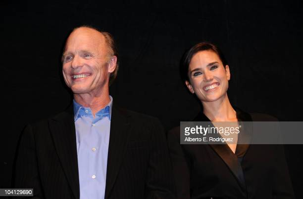 Actor Ed Harris and actress Jennifer Connelly attend 'What's Wrong With Virginia' Premiere during the 35th Toronto International Film Festival at The...