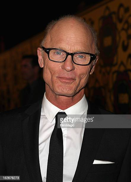 Actor Ed Harris arrives at HBO's Official After Party at The Plaza at the Pacific Design Center on September 23 2012 in Los Angeles California