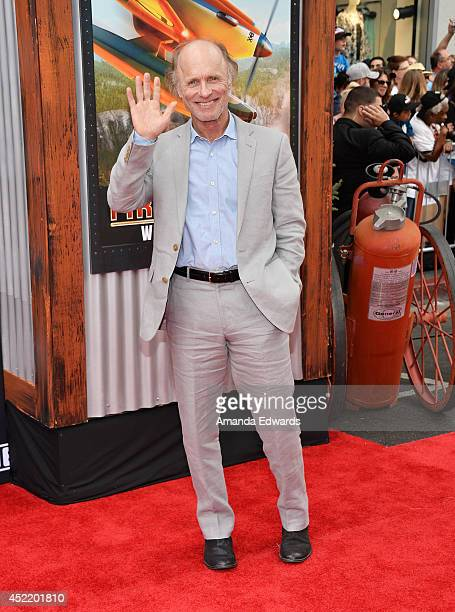 Actor Ed Harris arrives at the Los Angeles premiere of Disney's 'Planes Fire Rescue' at the El Capitan Theatre on July 15 2014 in Hollywood California