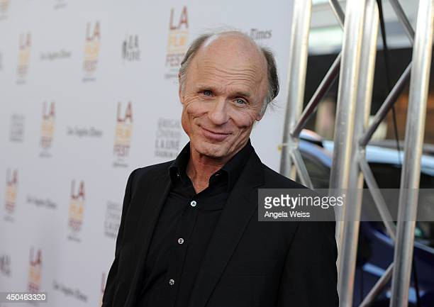Actor Ed Harris attends the opening night premiere of 'Snowpiercer' during the 2014 Los Angeles Film Festival at Regal Cinemas LA Live on June 11...