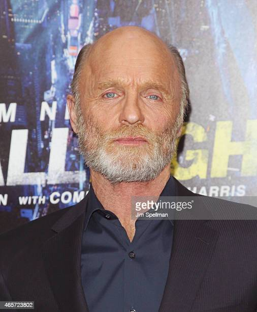 Actor Ed Harris attends the 'Run All Night' New York premiere at AMC Lincoln Square Theater on March 9 2015 in New York City
