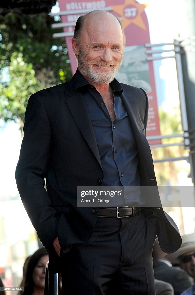 Ed Harris Honored On The Hollywood Walk Of Fame