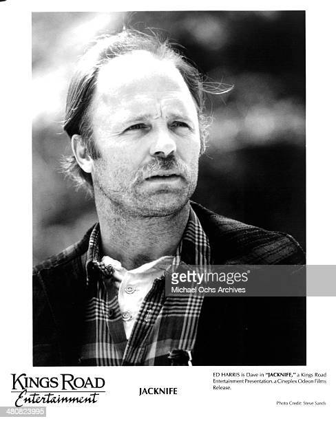 Actor Ed Harris in a scene from the movie 'Jacknife' circa 1989